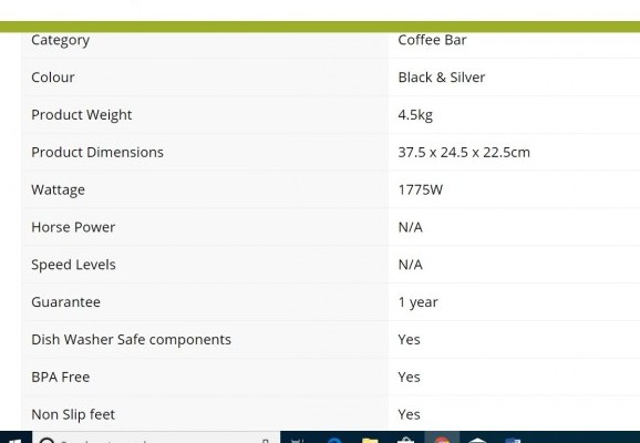 Ninja Coffee Bar Glass Product Description