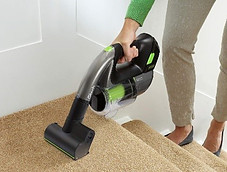 Cleaning Stair Carpet with Gtech